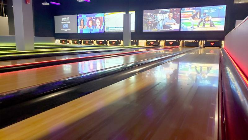Bowling at Allegiant Nonstop in Macomb County