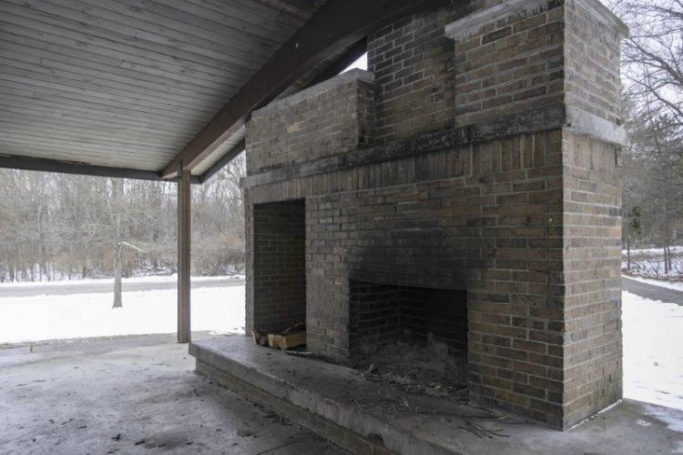 Bloomer Park Fire Place