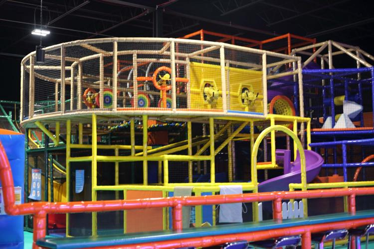 Indoor Playscape at Nonstop in Warren