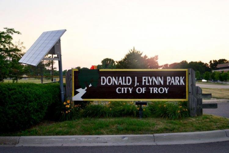 Donald J. Flynn Park in Troy (1)
