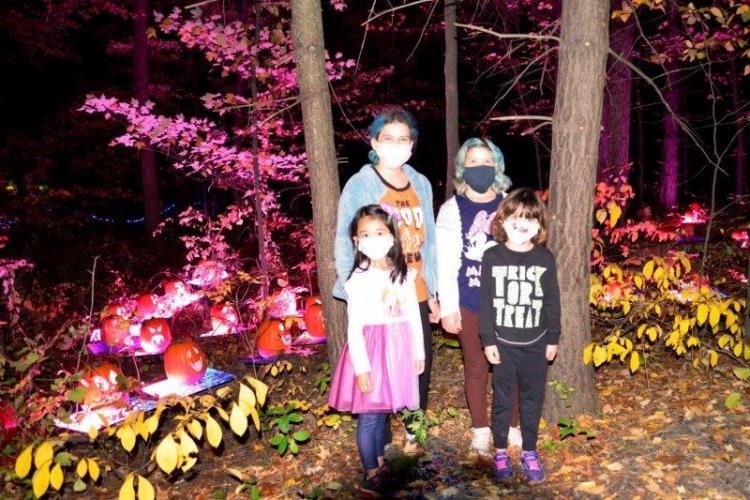 Glenlore Trails Haunted Forest Edition in Commerce Township (4)