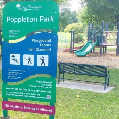 Poppleton Park in Birmingham (1)