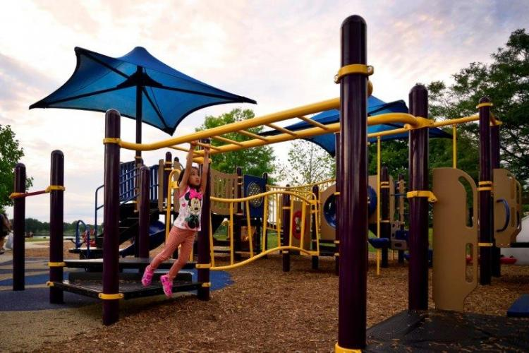 Stony Creek Eastwood Beach Play Structure