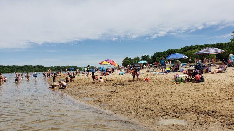 Stony Creek Metropark Eastwood Beach (8)