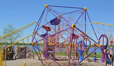 Stony Creek Metropark Eastwood Beach Playground (2)