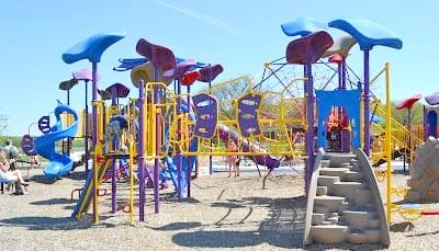 Stony Creek Metropark Eastwood Beach Playground (3)