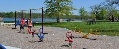 Stony Creek Metropark Eastwood Beach Playground (6)