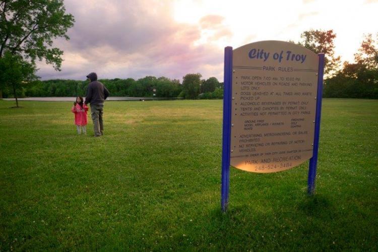 Sylvan Glen Lake Park in Troy (5)