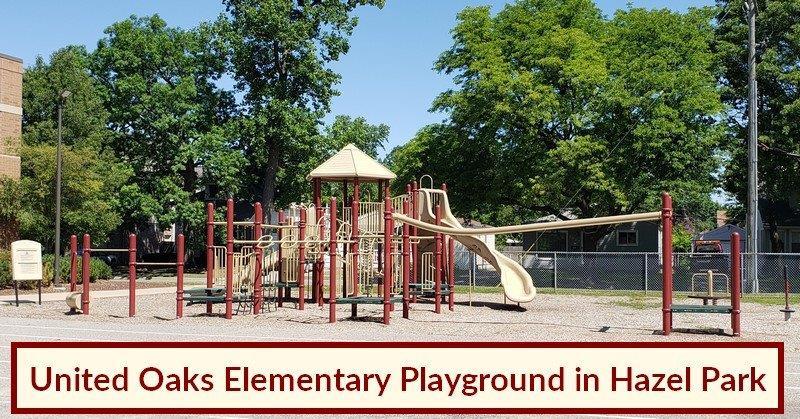 United Oaks Elementary in Hazel Park (2)