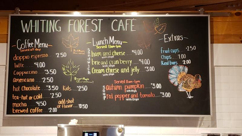 Whiting Forest Cafe