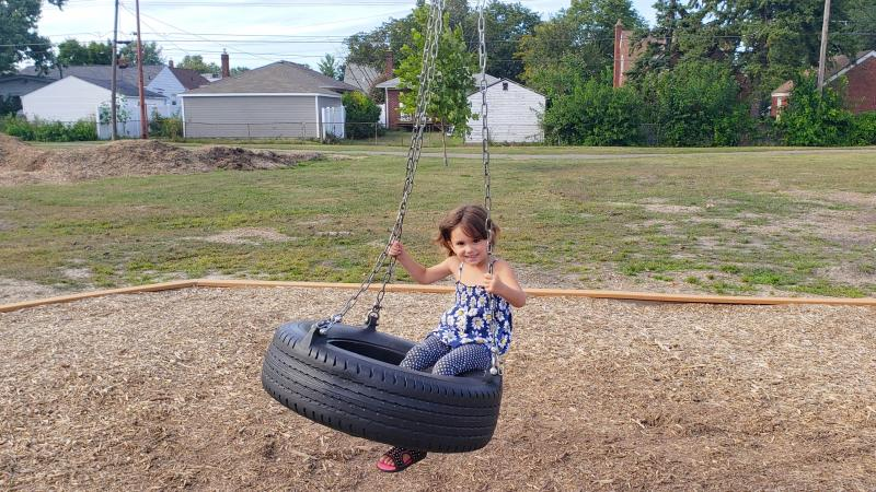 scout park tire swing