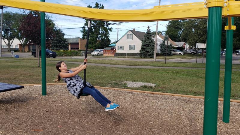 scout park zip line