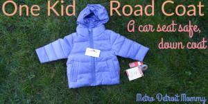 Road Coat - A Car Seat Safe Down Coat