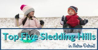 Top Five Sledding Hills in Metro Detroit