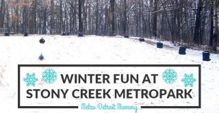 winter fun at Stony Creek Metropark