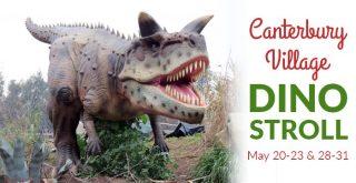 Canterbury Village Dino Stroll