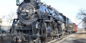 The Real Polar Express from Owosso to Ashley, Michigan
